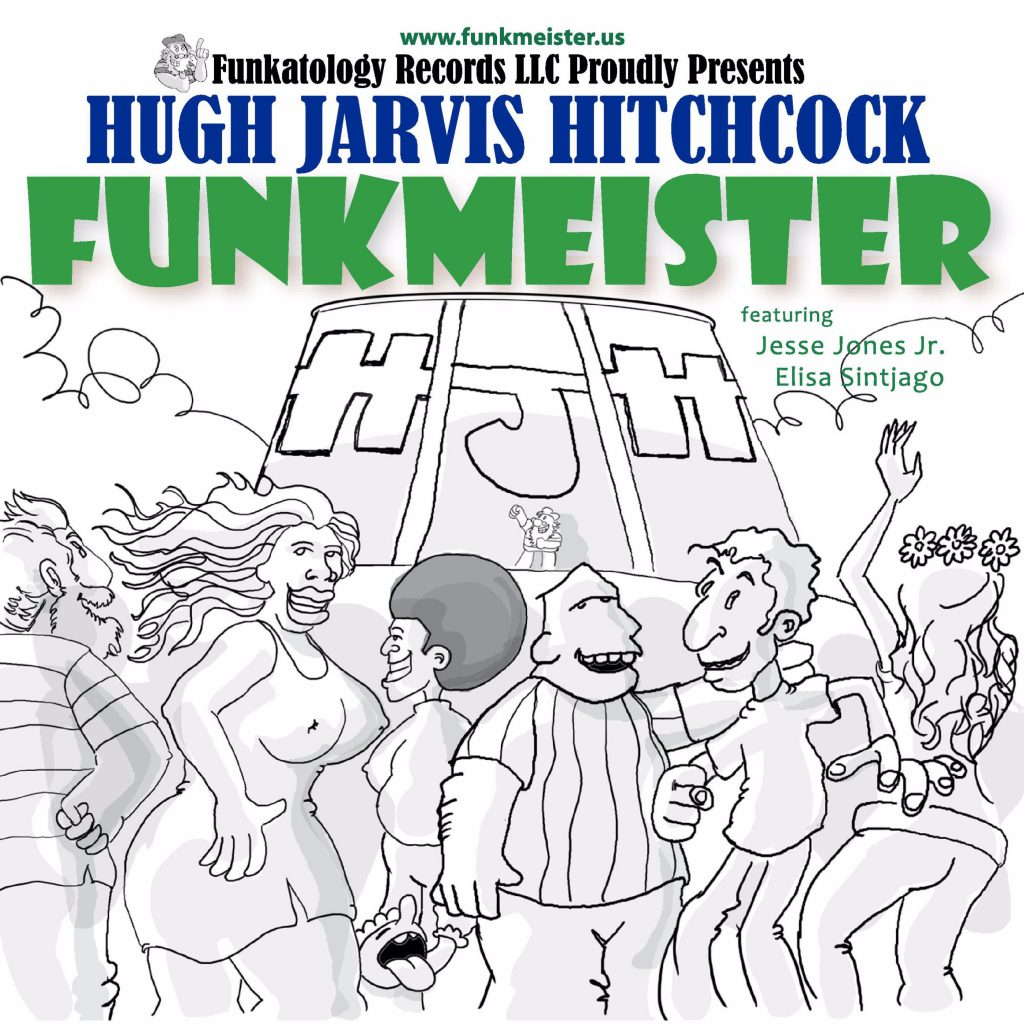 Hugh's First Album Funkmeister CD Cover