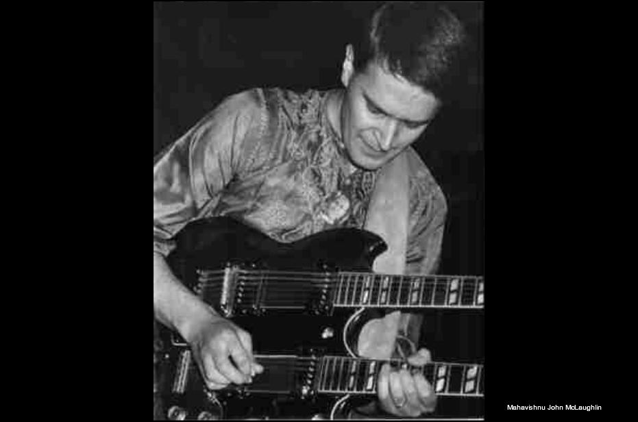 Mahavishnu John McLaughlin plays Electric Jazz