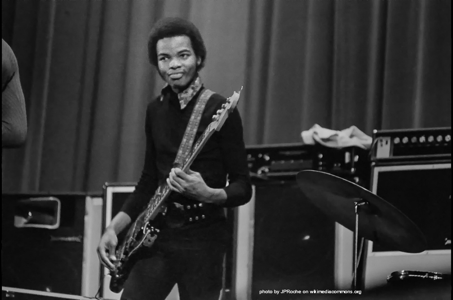 Michael Henderson circa 1971 plays Electric Jazz on a fender bass